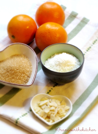Torta Cocco e Arance_ingredienti