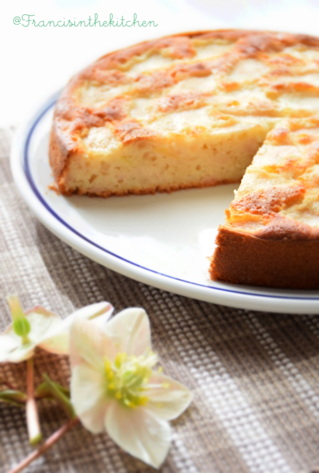 Torta Pere e Mandorle